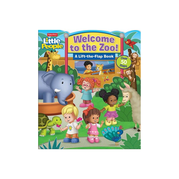 WELCOME TO ZOO LIFT THE FLAP BOOK