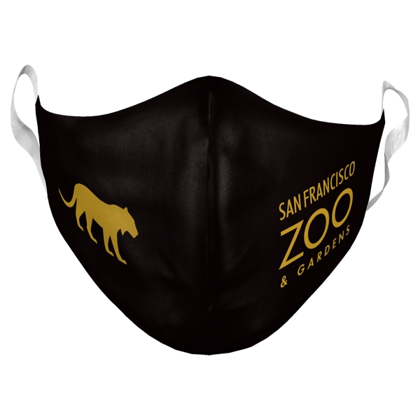 ADULT ADJUSTABLE SAN FRANCISCO ZOO LOGO MASK