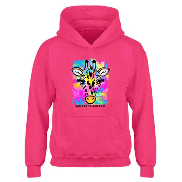 YOUTH HOODY FIESTA GIRAFFE
