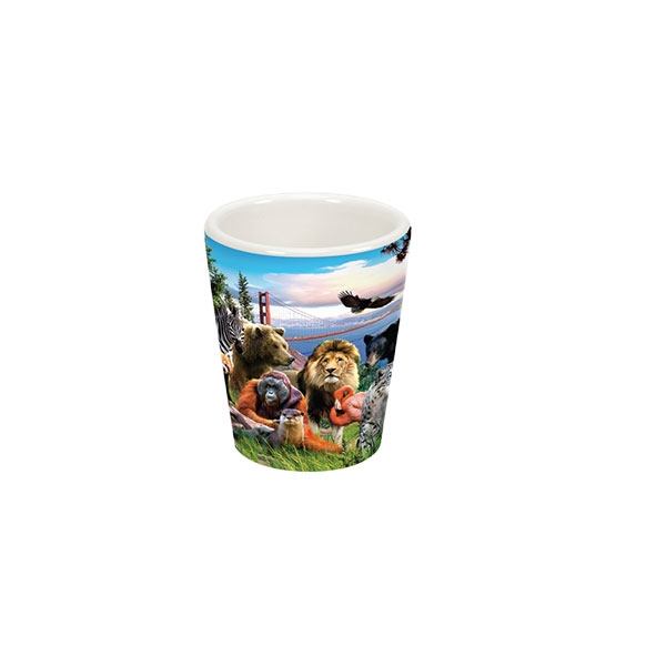 SAN FRANCISCO ZOO SHOT GLASS
