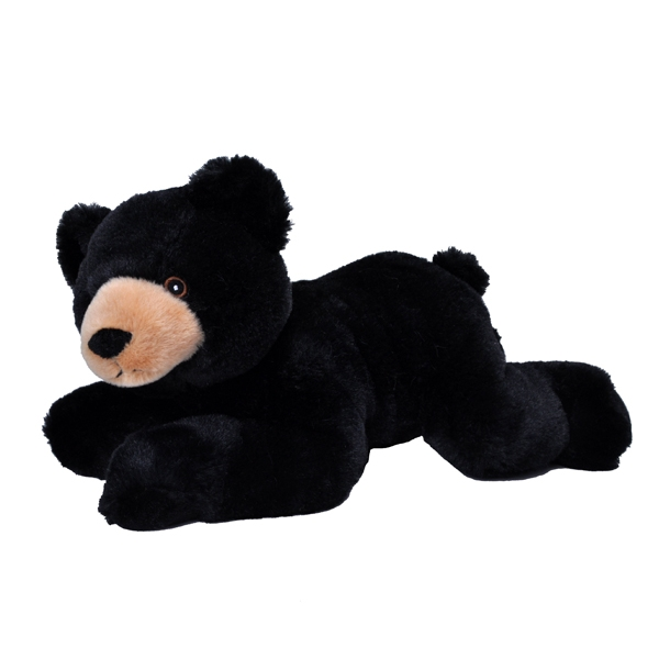 BLACK BEAR ECOKINS PLUSH