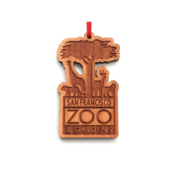 SAN FRANCISCO ZOO LOGO ORNAMENT