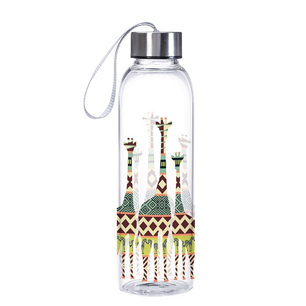 MODERN AFRICA  GIRAFFE WATER BOTTLE