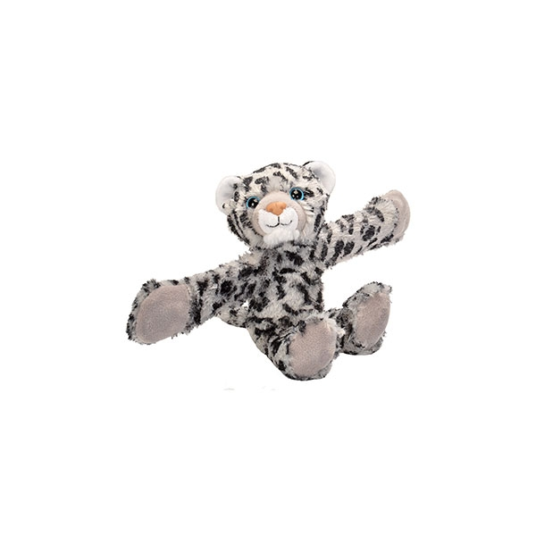 SNOW LEOPARD HUGGER PLUSH