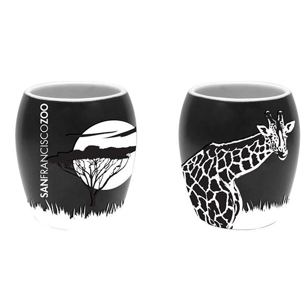 GIRAFFE ETCH SHOT GLASS