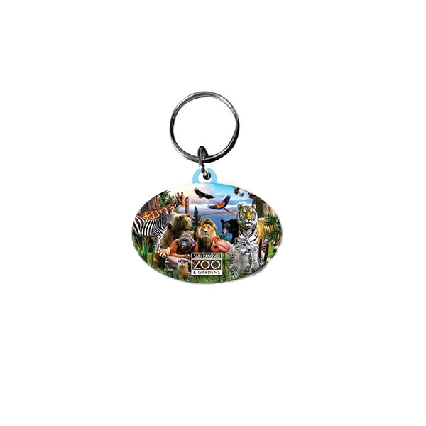 SAN FRANCISCO ZOO KEY CHAIN