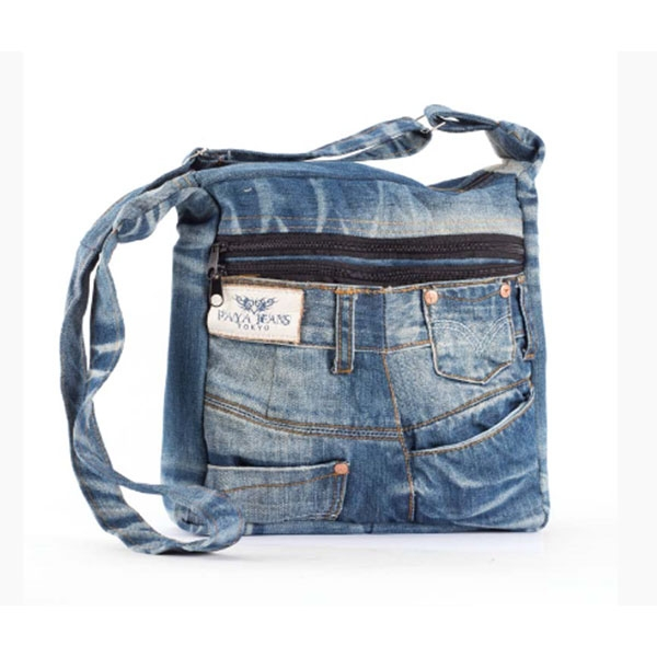 BLUE JEAN MESSENGER BAG