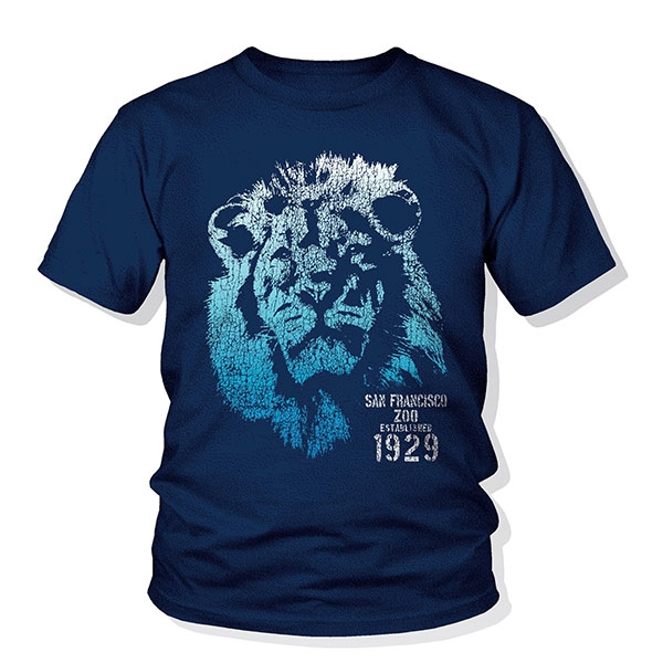 YOUTH TEE LION BLUES