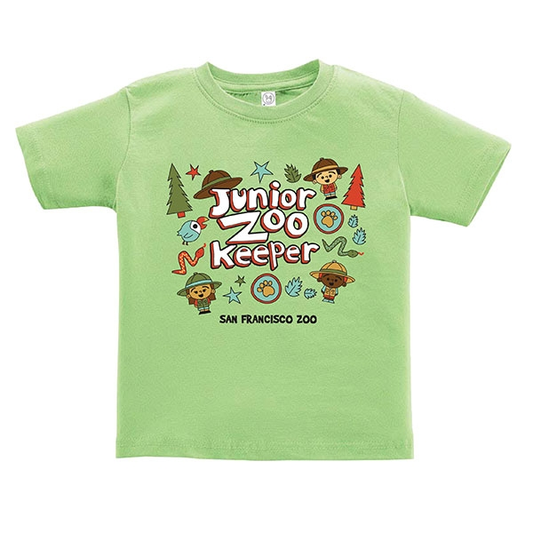 TODDLER TEE JUNIOR ZOOKEEPER