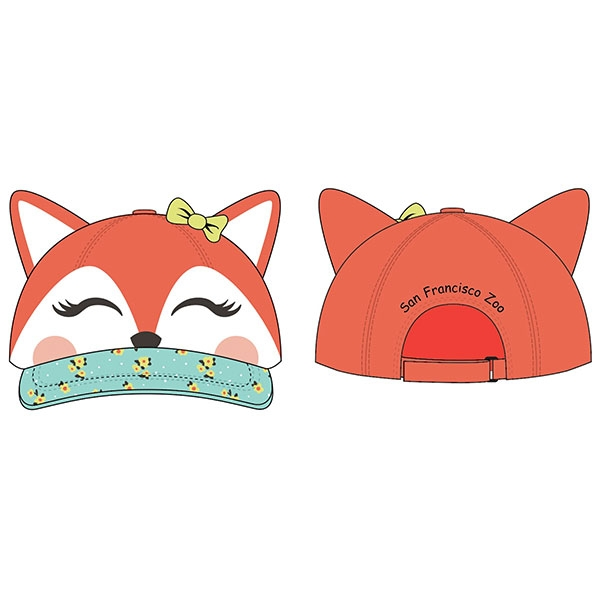 TODDLER CAP FOX 3D