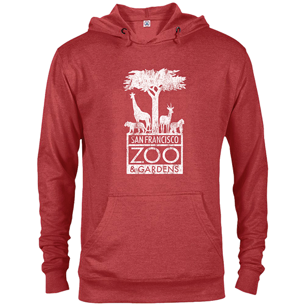 SAN FRANCISCO ZOO LOGO ADULT HOODY