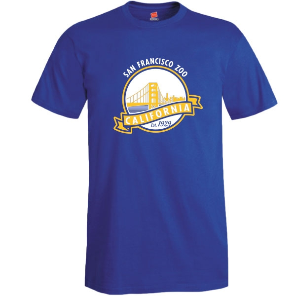 ADULT TEE GOLDEN GATE BRIDGE