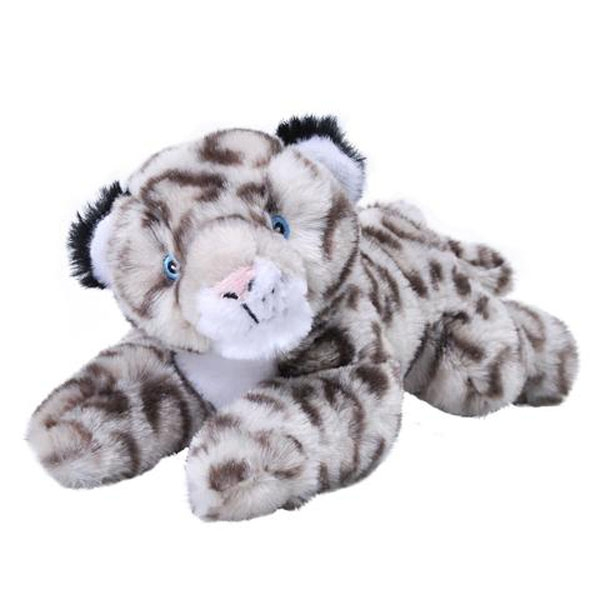 SNOW LEOPARD ECOKINS MINI PLUSH
