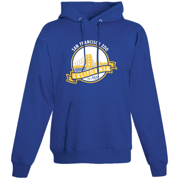 ADULT HOODY GOLDEN GATE BRIDGE