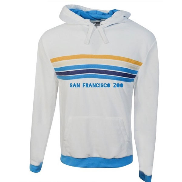 ADULT HOODY SAN FRANCISCO ZOO STRIPE