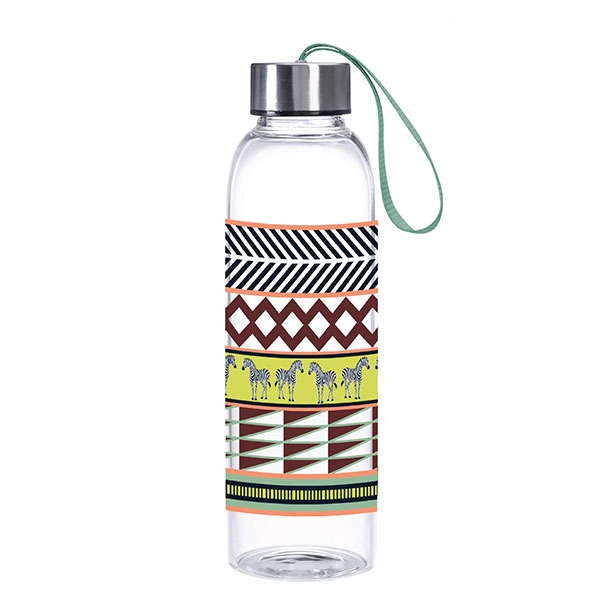 MODERN AFRICA  ZEBRA PATTERN WATER BOTTLE