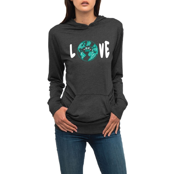 ADULT LIGHTWEIGHT HOODY WORLD LOVE