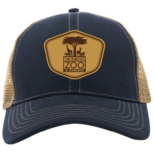 ADULT BASEBALL CAP SAN FRANCISCO ZOO PATCH