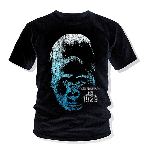 YOUTH TEE GORILLA BLUES